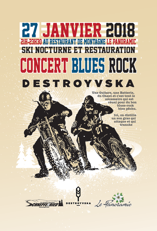 Concert Blues-Rock Destroyvska